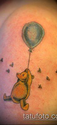 фото тату воздушный шар (Balloon tattoo) (значение) – пример рисунка – 323 tatufoto.com