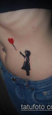 фото тату воздушный шар (Balloon tattoo) (значение) – пример рисунка – 324 tatufoto.com