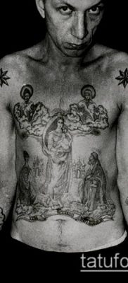 фото тату воровские звезды (Tattoo) (значение) – пример рисунка – 009 tatufoto.com