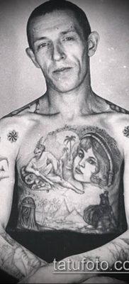 фото тату воровские звезды (Tattoo) (значение) – пример рисунка – 010 tatufoto.com