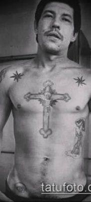 фото тату воровские звезды (Tattoo) (значение) – пример рисунка – 023 tatufoto.com