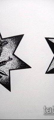 фото тату воровские звезды (Tattoo) (значение) – пример рисунка – 024 tatufoto.com