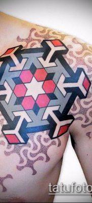 фото тату геометрические (tattoo) (значение) – пример рисунка – 004 tatufoto.com