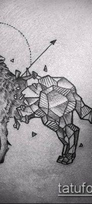 тату геометрические №772 – достойный вариант рисунка, который легко можно использовать для преобразования и нанесения как тату геометрические на руке