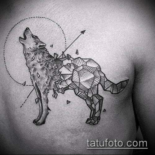 тату геометрические №772 - достойный вариант рисунка, который легко можно использовать для преобразования и нанесения как тату геометрические на руке