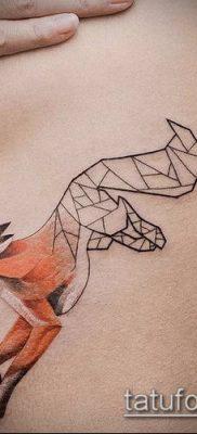 тату геометрические №837 – классный вариант рисунка, который удачно можно использовать для переделки и нанесения как тату геометрические узоры