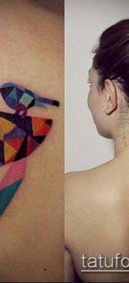 тату геометрические №473 – крутой вариант рисунка, который хорошо можно использовать для доработки и нанесения как тату геометрические на руке