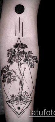 тату гравюра №97 – интересный вариант рисунка, который хорошо можно использовать для переработки и нанесения как тату гравюра животные