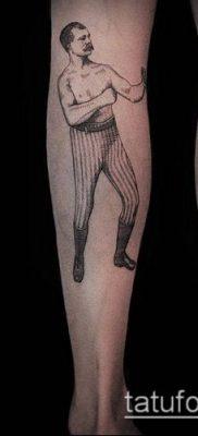 тату гравюра №74 – крутой вариант рисунка, который хорошо можно использовать для переработки и нанесения как тату гравюра на плече