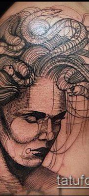 тату гравюра №970 – достойный вариант рисунка, который легко можно использовать для преобразования и нанесения как Engraving tattoo