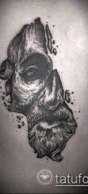 тату гравюра №511 – эксклюзивный вариант рисунка, который удачно можно использовать для доработки и нанесения как тату гравюра на плече