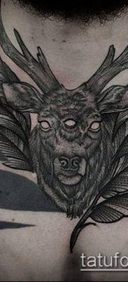 тату гравюра №409 – крутой вариант рисунка, который удачно можно использовать для переделки и нанесения как тату гравюра предплечье