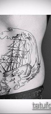 тату гравюра №608 – интересный вариант рисунка, который успешно можно использовать для переделки и нанесения как тату гравюра животные
