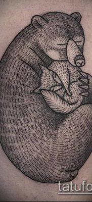 тату гравюра №438 – классный вариант рисунка, который хорошо можно использовать для переделки и нанесения как Engraving tattoo