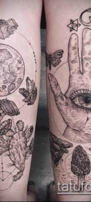 тату гравюра №27 – интересный вариант рисунка, который легко можно использовать для переработки и нанесения как тату гравюра животные