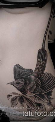 тату гравюра №140 – прикольный вариант рисунка, который легко можно использовать для доработки и нанесения как тату гравюра на плече