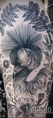 тату гравюра №903 – уникальный вариант рисунка, который успешно можно использовать для доработки и нанесения как Engraving tattoo