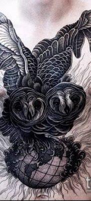 тату гравюра №58 – классный вариант рисунка, который удачно можно использовать для преобразования и нанесения как Engraving tattoo