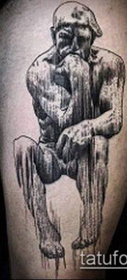 тату гравюра №298 – эксклюзивный вариант рисунка, который легко можно использовать для переделки и нанесения как Engraving tattoo