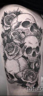 тату гравюра №145 – прикольный вариант рисунка, который успешно можно использовать для переработки и нанесения как тату гравюра рембрандта