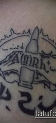 фото тату группа крови (Blood type Tattoo) (значение) – пример рисунка – 035 tatufoto.com