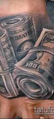 фото тату деньги (Tattoo money) (значение) – пример рисунка – 005 tatufoto.com