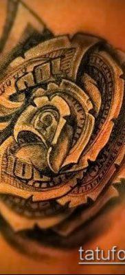 фото тату деньги (Tattoo money) (значение) – пример рисунка – 008 tatufoto.com