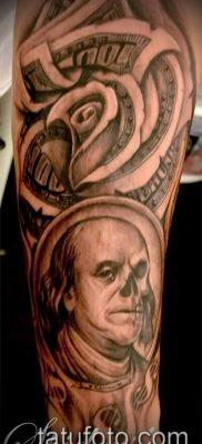 фото тату деньги (Tattoo money) (значение) – пример рисунка – 027 tatufoto.com