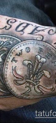 фото тату деньги (Tattoo money) (значение) – пример рисунка – 030 tatufoto.com