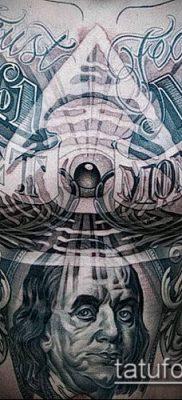 фото тату деньги (Tattoo money) (значение) – пример рисунка – 032 tatufoto.com