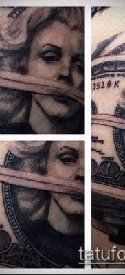 фото тату деньги (Tattoo money) (значение) – пример рисунка – 034 tatufoto.com