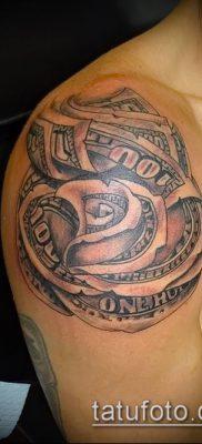 фото тату деньги (Tattoo money) (значение) – пример рисунка – 036 tatufoto.com