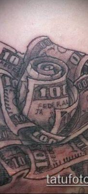 фото тату деньги (Tattoo money) (значение) – пример рисунка – 040 tatufoto.com