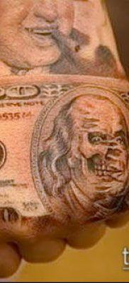 фото тату деньги (Tattoo money) (значение) – пример рисунка – 041 tatufoto.com