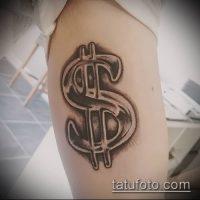Значение тату деньги