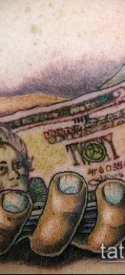 фото тату деньги (Tattoo money) (значение) – пример рисунка – 062 tatufoto.com