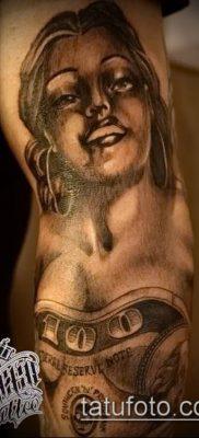фото тату деньги (Tattoo money) (значение) – пример рисунка – 064 tatufoto.com