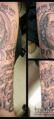 фото тату деньги (Tattoo money) (значение) – пример рисунка – 067 tatufoto.com