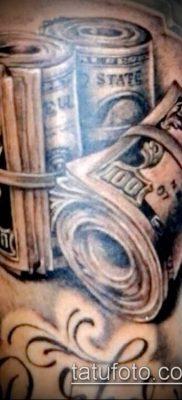 фото тату деньги (Tattoo money) (значение) – пример рисунка – 069 tatufoto.com