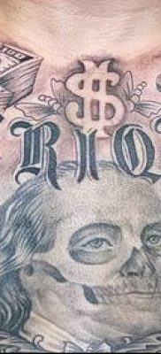 фото тату деньги (Tattoo money) (значение) – пример рисунка – 072 tatufoto.com