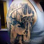 тату для мужчин №288 - интересный вариант рисунка, который хорошо можно использовать для переделки и нанесения как тату для мужчин