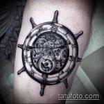тату для мужчин №367 - прикольный вариант рисунка, который успешно можно использовать для преобразования и нанесения как Men's tattoos