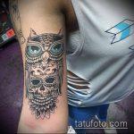 тату для мужчин №926 - крутой вариант рисунка, который успешно можно использовать для переделки и нанесения как тату для мужчин