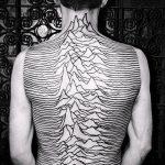 тату для мужчин №537 - уникальный вариант рисунка, который удачно можно использовать для доработки и нанесения как тату для мужчин
