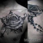 тату для мужчин №163 - крутой вариант рисунка, который хорошо можно использовать для переделки и нанесения как тату для мужчин