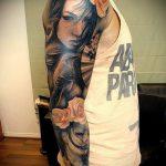 тату для мужчин №381 - интересный вариант рисунка, который хорошо можно использовать для преобразования и нанесения как тату для мужчин