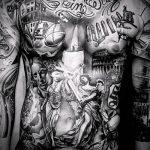 тату для мужчин №992 - достойный вариант рисунка, который хорошо можно использовать для переработки и нанесения как тату на кисть руки для мужчин