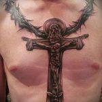 тату для мужчин №4 - достойный вариант рисунка, который хорошо можно использовать для переделки и нанесения как тату на кисть руки для мужчин