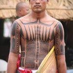 тату для мужчин №251 - интересный вариант рисунка, который хорошо можно использовать для преобразования и нанесения как тату обереги для мужчин
