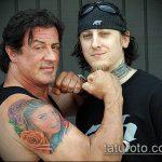 тату для мужчин №23 - эксклюзивный вариант рисунка, который легко можно использовать для преобразования и нанесения как тату на кисть руки для мужчин